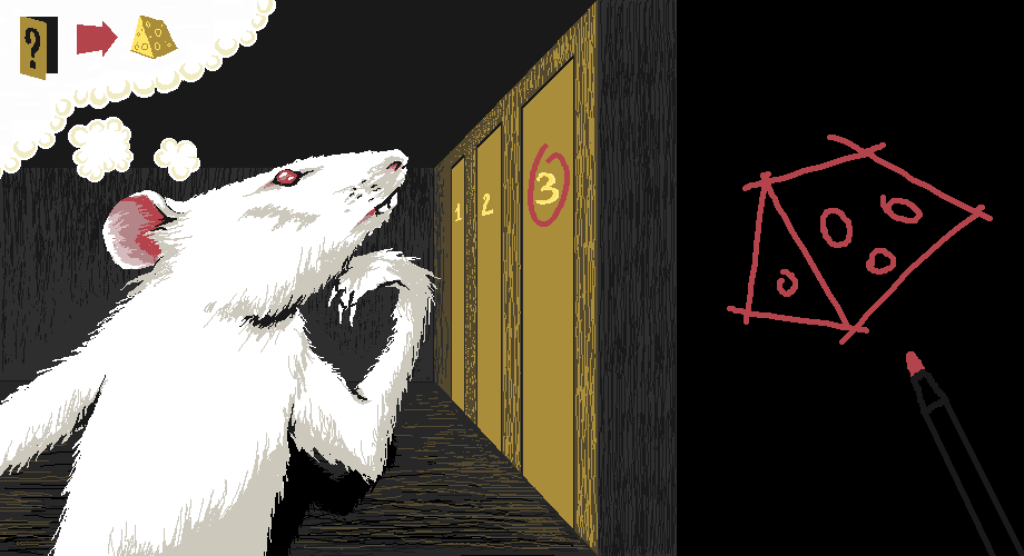 В 1937 году человек по фамилии Янг (Young) провёл очень интересное исследование. Он сделал длинный коридор с дверцами по одной стороне, из которых выбегали крысы, и дверцами по другой, за которыми находилась еда. Янг хотел проверить, можно ли научить крыс всегда входить в третью по счёту дверцу от того места, где их впустили в коридор. Нет. Крысы всегда уверенно направлялись к месту, где еда была в прошлый раз.