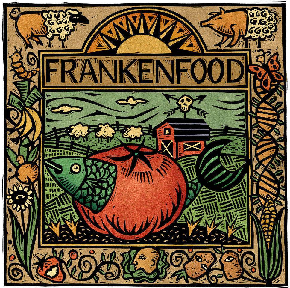 Для некоторых людей сама идея переноса генов между различными видами воскрешает в памяти образы сумасшедших учёных, и они называют еду с ГМО «франкенфуд».