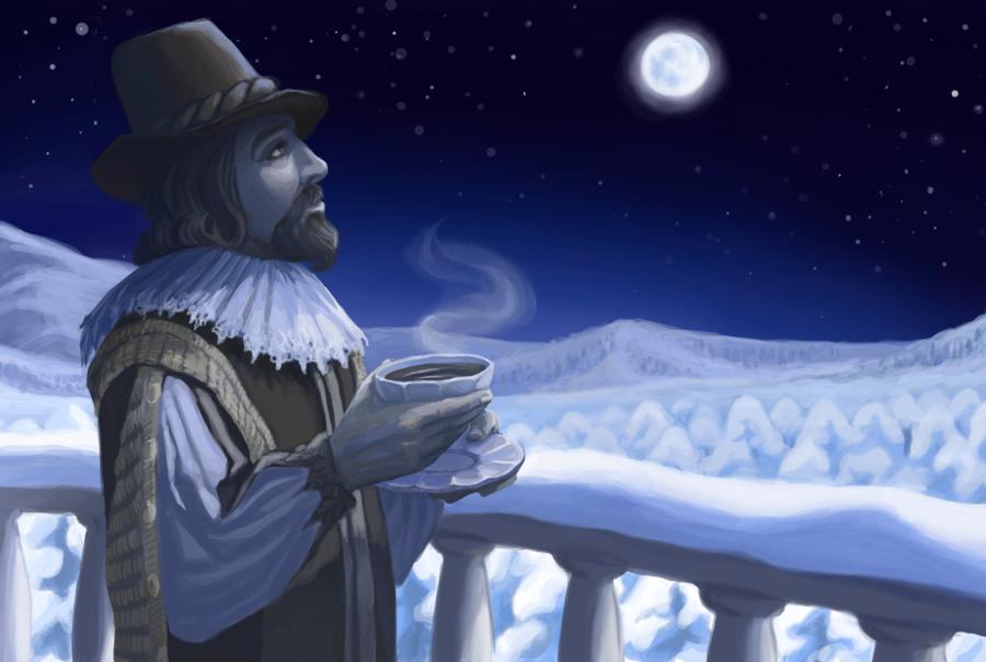 Первый отрицательный, или подчинённый пример — к первому утвердительному примеру. Не установлено, что лучи луны, звёзд и комет горячие на ощупь; более того, самые сильные морозы обычно бывают при полной луне.