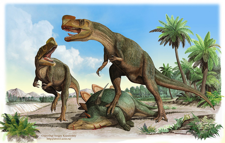Динозавры России: килеск – хищник, один из самых базальных членов клады Tyrannosauroidea. Был найден только неполный череп и изолированные кости передних и задних конечностей.
