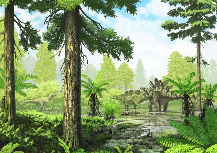 Шарыповские динозавры – это знаменитый килеск и пока ещё безымянный стегозавр.