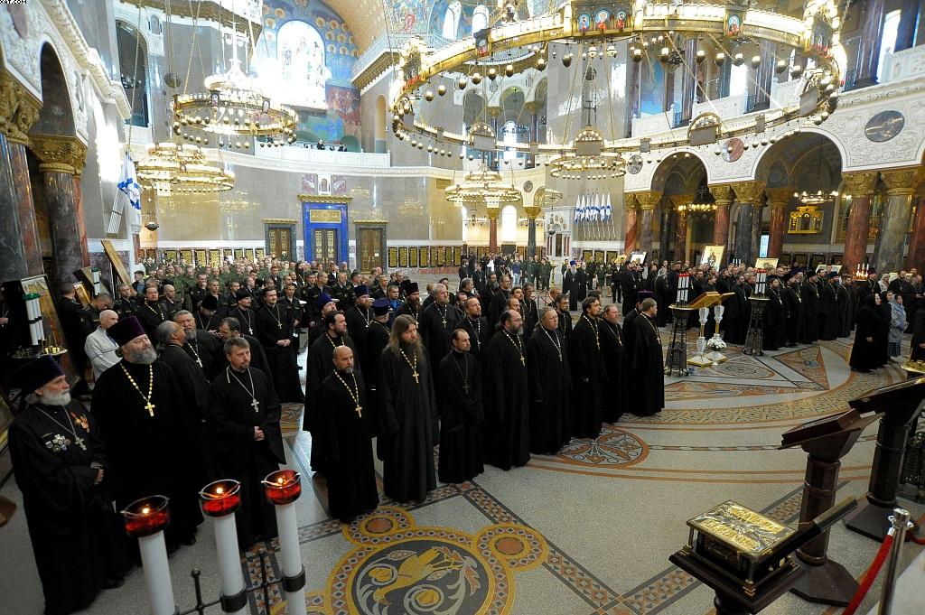 VI Учебно-методический сбор с должностными лицами по работе с верующими военнослужащими Вооружённых сил Российской Федерации, 24 мая 2016 года.